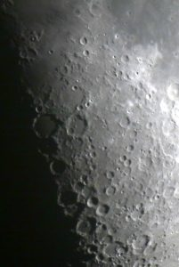 The Moon's Southern highlands