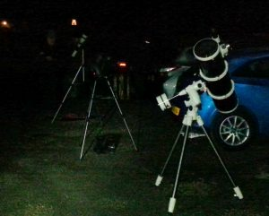 Members' telescopes