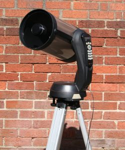 Celestron NexStar 8i end view