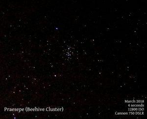 Praesepe (Beehive cluster)