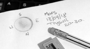 Mars observation log