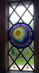 Commemorative window in Carr House