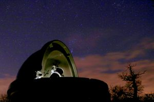 "Wolvas observatory dome with 8"" Skywatcher Reflector"