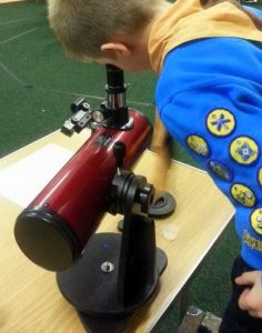 Learning to use a telescope
