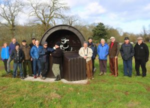 First group visit to the Wolvas Observatory