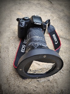 DSLR with baader filter