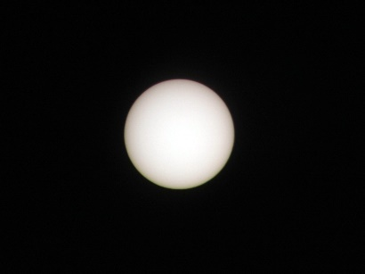 The sun in white light