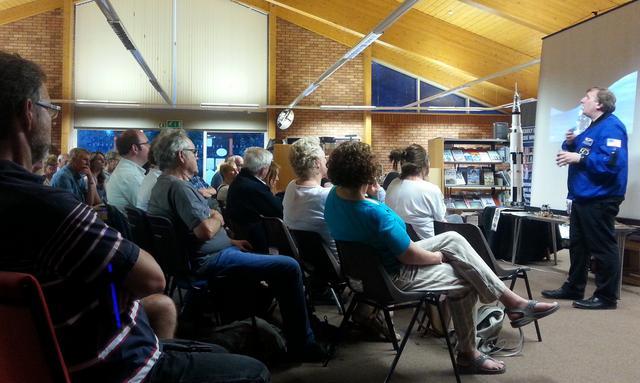 Andrew Lound - Apollo talk at Perton Library