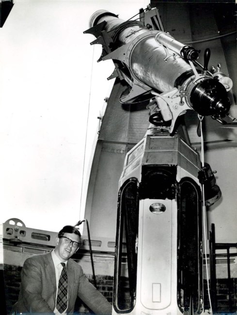 Ron Maddison and scope