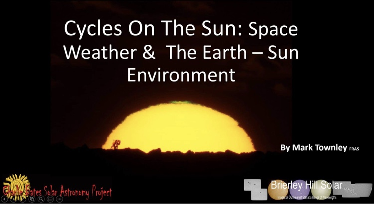 Cycles on the Sun - Mark Townley