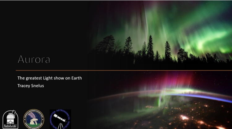 Tracey Snelus - The Greatest Light Show on Earth