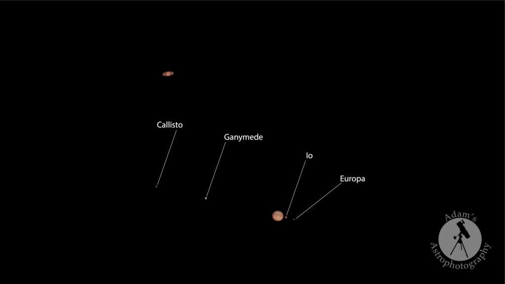 Jupiter / Saturn Conjunction (Adam Foster)