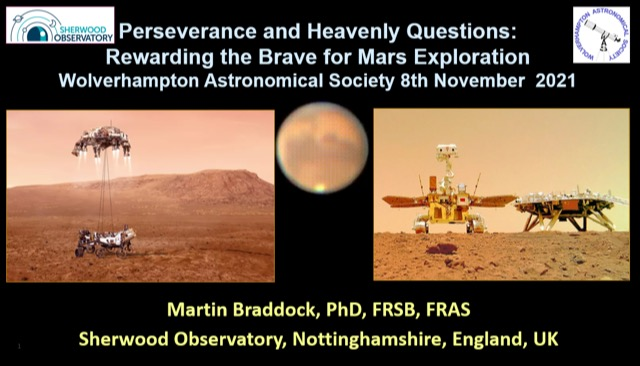 Martin Braddock - Perseverance and Heavenly Questions