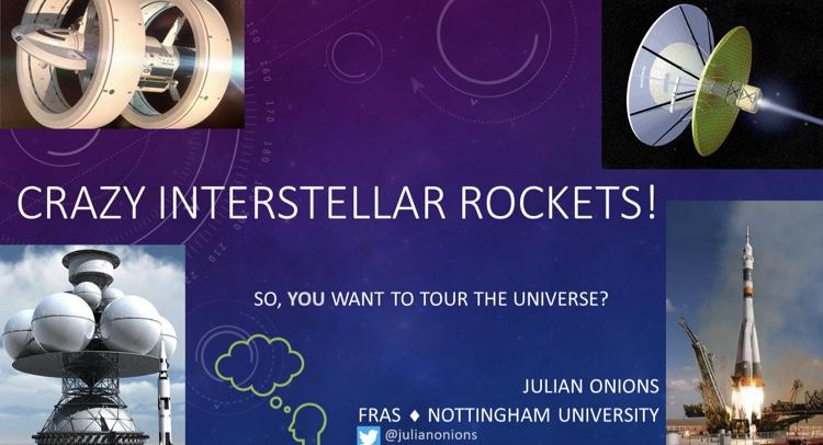 Julian Onions - Crazy interstellar rockets