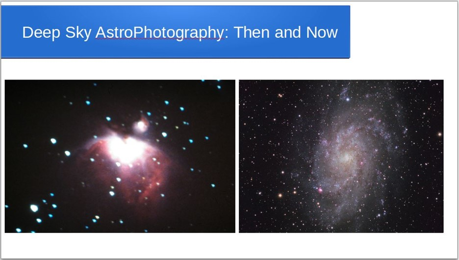 Steve Clifton - Astrophotography then and now
