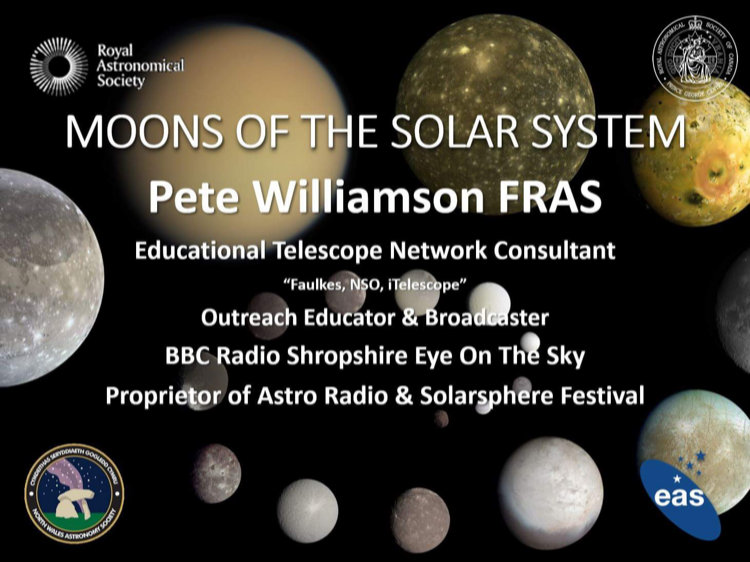 Pete Williamson - Moons of the solar system